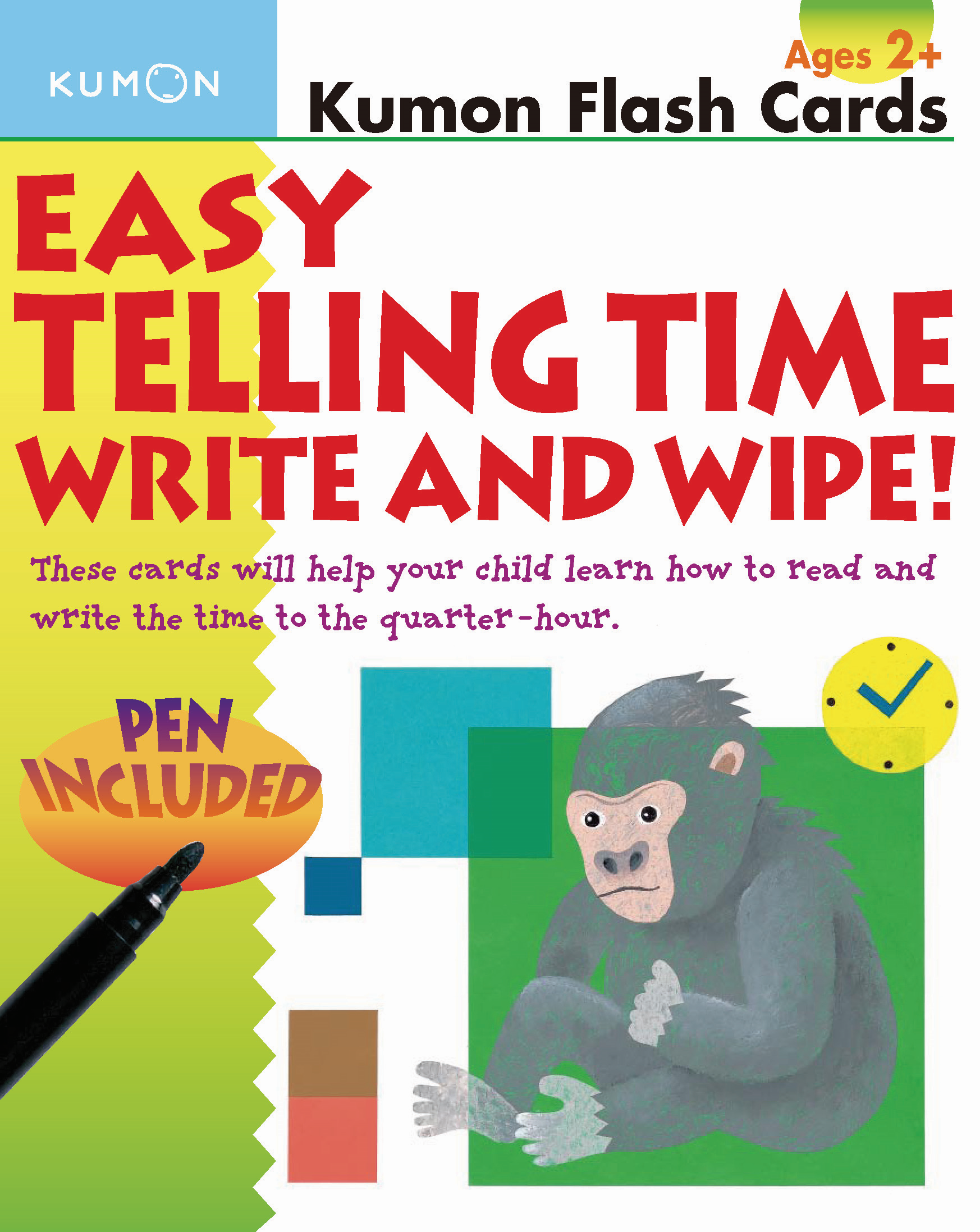 Easy Telling Time Write and Wipe