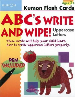 ABCs Uppercase Write & Wipe Flash Cards