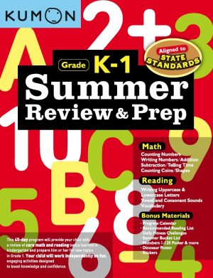 Summer Review & Prep: K-1