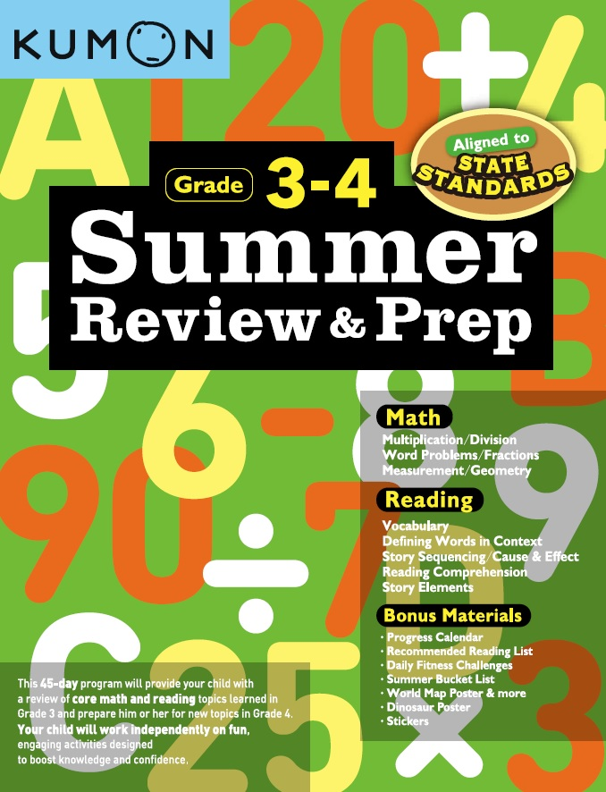 Summer Review and Prep 3-4