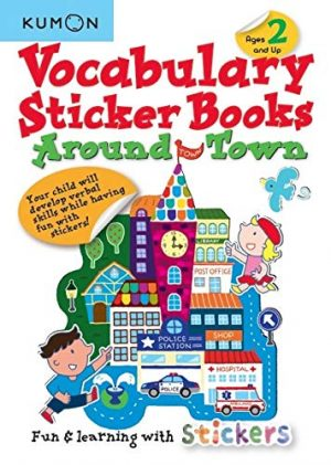 Vocabulary Sticker Books – Around Town
