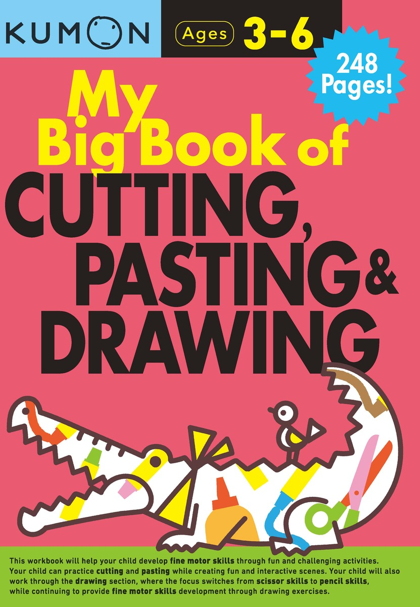 My Big Book of Cutting, Pasting & Drawing
